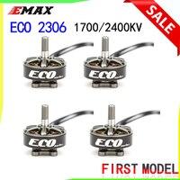 Emax ECO Serie 2306 Motor 1700KV 3 ~ 6s /2400KV 2 ~ 4s Durable Motor für DIY racing FPV Drone RC Hubschrauber 4PCS