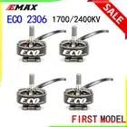 Emax Serie ECO 2306 Motor 1700KV 3 ~ 6 s/2400KV 2 ~ 4s duradero Motor para el bricolaje de carreras de FPV Drone RC helicóptero 4 Uds