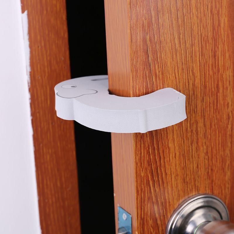 3 Pcs Children Cartoon Door Stopper Thickening Baby Anti-pinch Items Kids Protective Equipment Security Doors Card