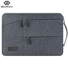Gearmax Laptop Bag 11 12 13 14 15 15.6 Laptop Bag Black Gray Case For Macbook Air 13 Case For Macbook Air Pro 13 15 Bags Nylon