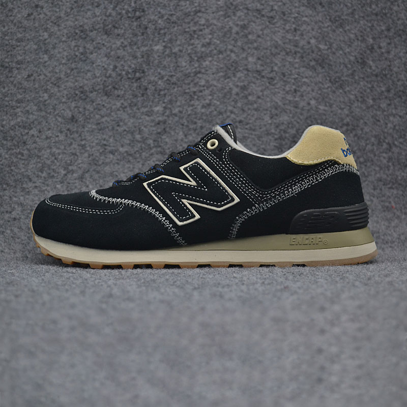New Arrival NEW BALANCE 2018MS574  Mens shoes Breathable COMFORTABLE Sneakers Badminton Shoes