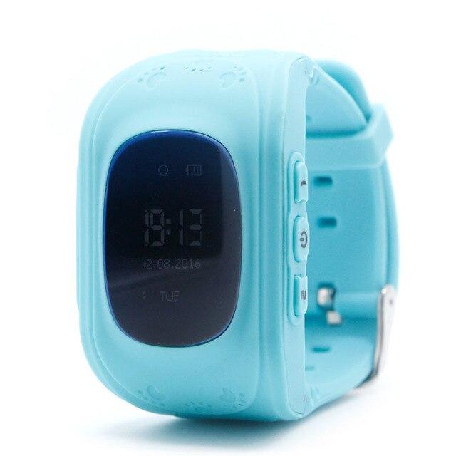 3 Цветов Q50 Анти-потерянные Дети Безопасности Трекер Дети Смартфон GPS Часы Для Android/IOS