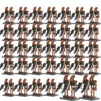 100Pcs/Set Legoelys Star Wars Super Battle Droid Security Pilot K2So Figures Starwars Model Set Building Blocks Toys For Kid