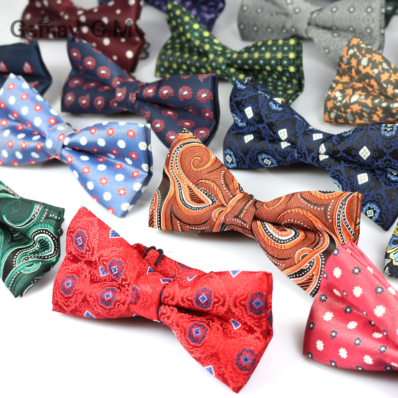 Newest Bowknot Men's Bowtie Cravata Brand Popular Polyester Necktie Bowtie For Men Fashion Formal Suits Bowtie For Wedding