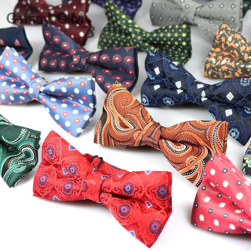 Newest Bowknot Men's Bowtie Cravata Brand Popular Polyester Necktie Bowtie For Men Fashion Formal Suits Bowtie For Wedding