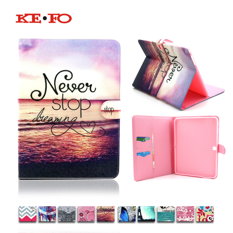 Kefo T530 Fashion Design PU Leather Case Cover Funda for Samsung Galaxy Tab 4 10.1 Inch T530 T531 T535 Sm-t531 Tablet Covers ultra thin magnetic stand smart pu leather cover for samsung galaxy tab 4 10 1 t530 t531 t535 tablet funda case free film pen