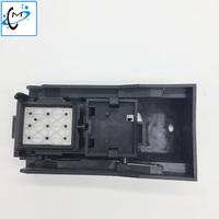 Inkjet printer DX5 capping station solvent ink for Mimaki JV33 JV5 Mutoh 1604 Lecai F186010 epson DX5 head cleaning kit cap top
