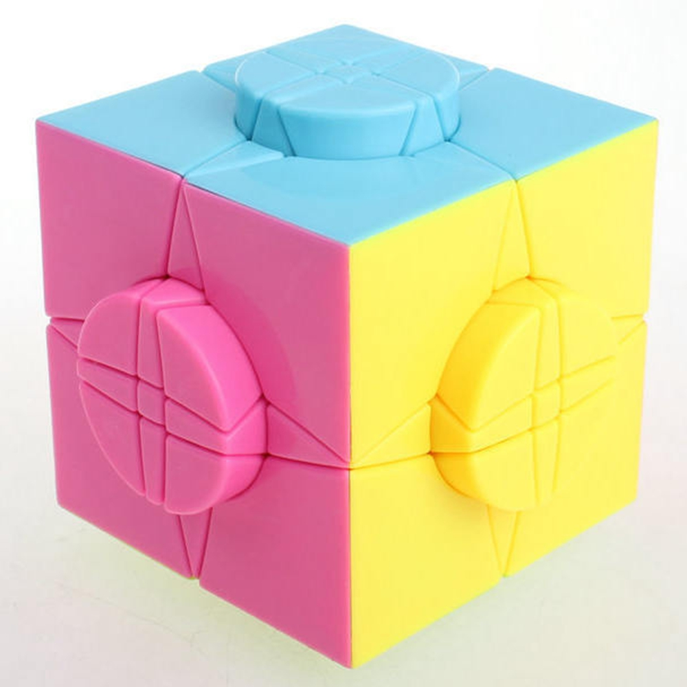 цена Yongjun MoYu Wheel of Time Magic Cube Speed Puzzle Cubo Magico Educational Special Kids Toys