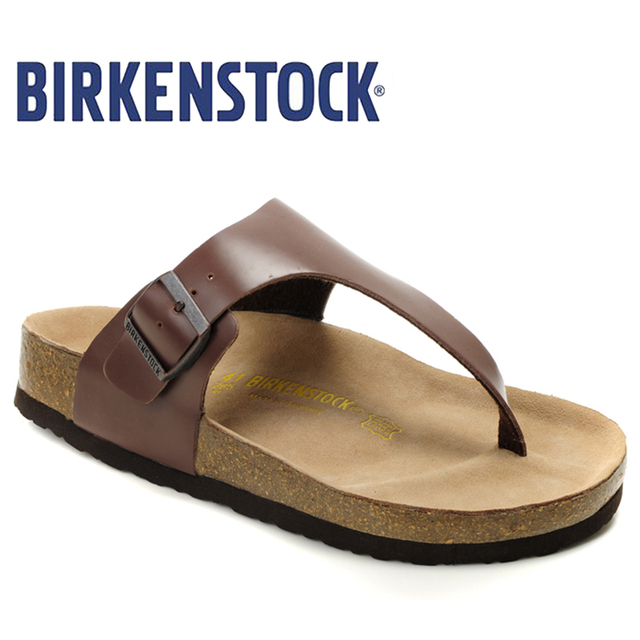 e966348f9e US $42.31 54% OFF|2019 New Arrival Birkenstock Summer on beach Slides  Sandals Party Shoes Women's Unisex Shoe 805 Flip Flop Slippers Mannen-in  Low ...