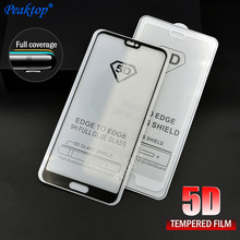 5D Glass For Huawei P20 Lite Screen Protector Cover Protective Glass For Huawei P20 P10 Mate 10 Pro P8 P9 Lite 2017 Honor 10(China)