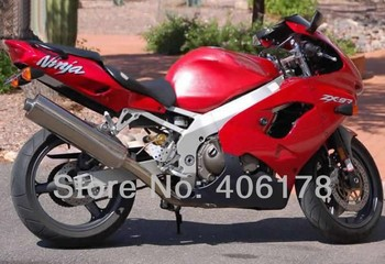 Cheap ZX9R 98 99 Sports Bike fairing set For Ninja ZX-9R 1998 1999 ZX 9R 98-99 Red Motorcycle Fairing Kit