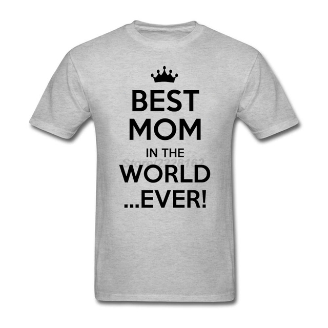 Mejor Madre Del Mundo Jamás Hombre Camiseta Hip Hop Personalizada