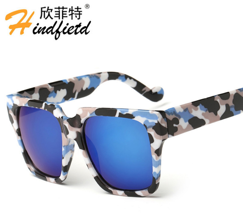 Novas Marcas De Luxo Da Moda Óculos De Sol Das Mulheres Dos Homens de Lazer  Óculos De Sol Unisex tendência Eyewear UV400 lente Reflexivo Colorido Óculos c579889c9b