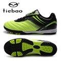 Tiebao profesional hombres mujeres athletic training zapatillas deporte al aire libre zapatos de fútbol tf turf suela de goma botas de fútbol eur 39-44
