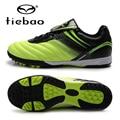 Tiebao profissional homens mulheres athletic training sneakers sola de borracha desporto ao ar livre sapatos de futebol tf turf futebol botas eur 39-44