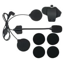 T-MAX accessori, cuffia auricolare microfono e clip di lavoro per T-MAX casco moto citofono headset