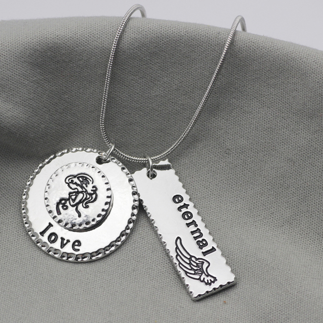 Miscarriage sympathy gift memorial jewelry mommy necklace mom miscarriage sympathy gift memorial jewelry mommy necklace mom jewelry with letters angel wing eternal dropshipping yp3140 aloadofball Images