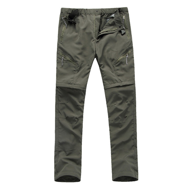 bce308f6dbcf RAY GRACE Light Weight Quick Drying Convertible Pants For Men Cargo Pants  Shorts Hiking Hunting Fishing Outdoor Sports Trousers
