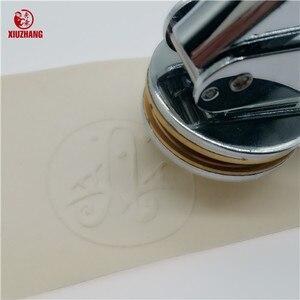 Image 3 - Stainless steel Embossing Stamp Custom Wedding Table Pliers Seal Custom Logo Stamp Leather