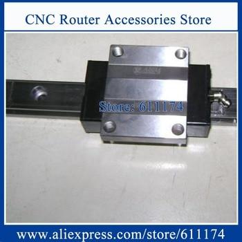 Original Taiwan ABBA Linear bearings BRH20A, slider block BRC20A0, Flange slider blocks BRC20AO 1pc + BR20 L-200mm rail 1pc