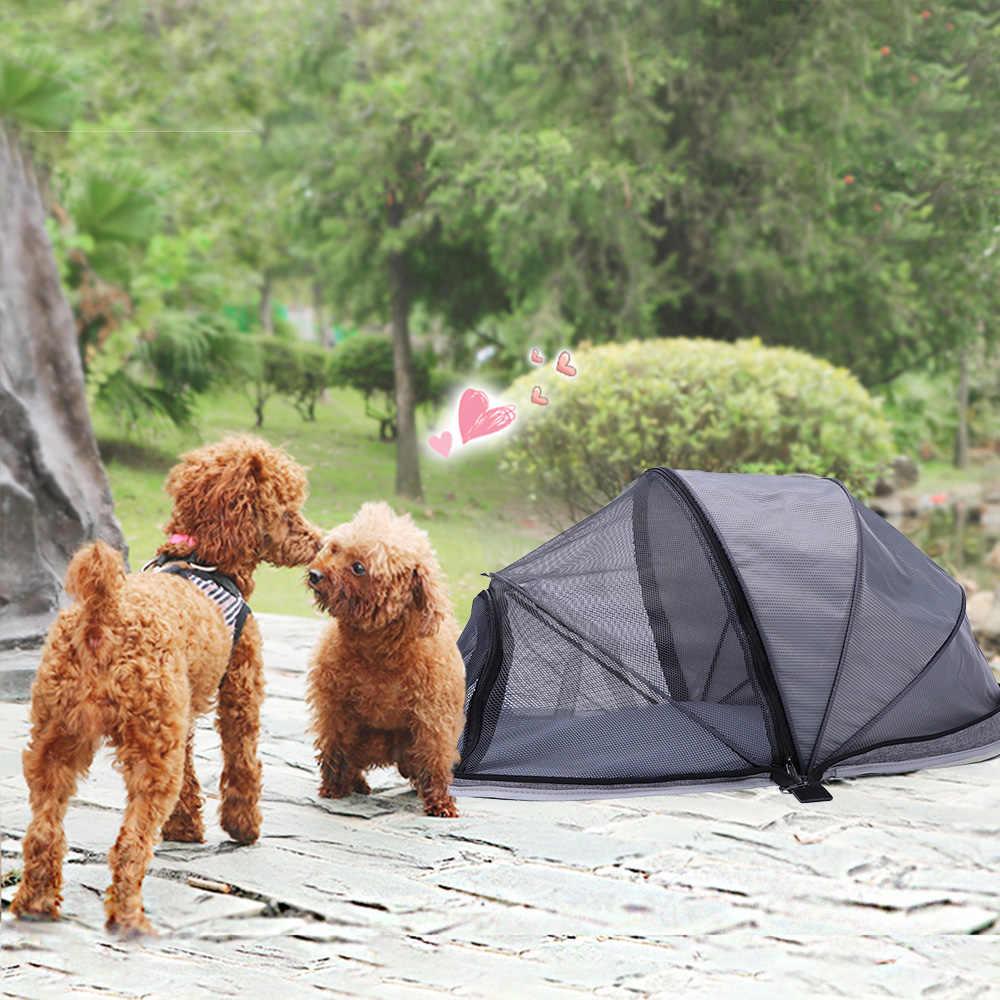 Animal de compagnie chien transporteur Cage clôture tente coffre-fort transporter maison chat chiot sac respirant panier sac à dos produits pour animaux de compagnie voyage sac lapin Cage