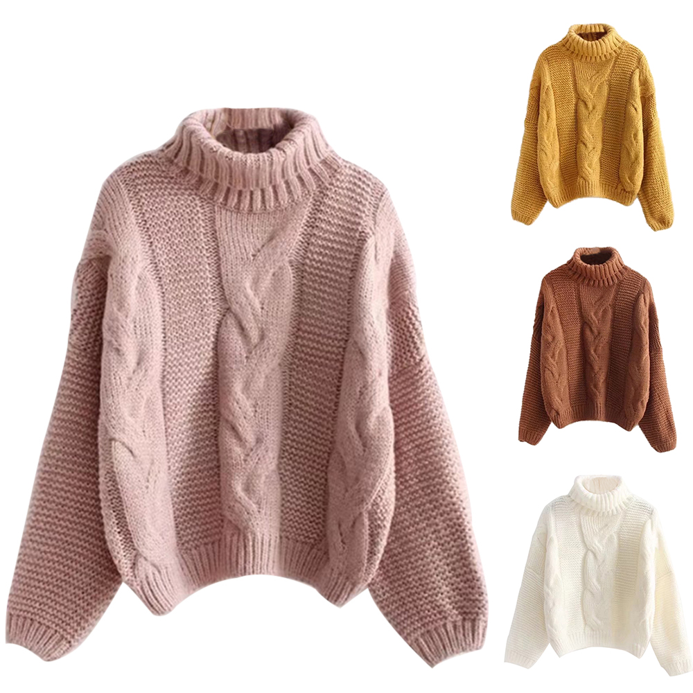 CYSINCOS 2019 NEW Arrival Autumn Winter Lady Solid Sweater Basic Women Jumper Batwing Sleeve Femme Casual Knitted Streetwear Top