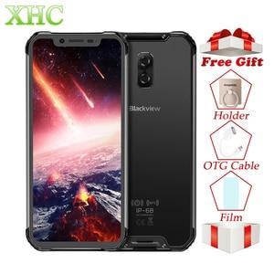 "Image 1 - Blackview BV9600 Pro 6.21"" 19:9 FHD Mobile Phone Octa Core 6GB+128GB 5580mAh Android 8.1 NFC Dual SIM IP68 Waterproof Smartphone"