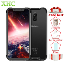 "Blackview BV9600 Pro 6.21 ""19:9 FHD โทรศัพท์มือถือ Octa Core 6 GB + 128 GB 5580 mAh Android 8.1 NFC Dual SIM IP68 สมาร์ทโฟนกันน้ำ"