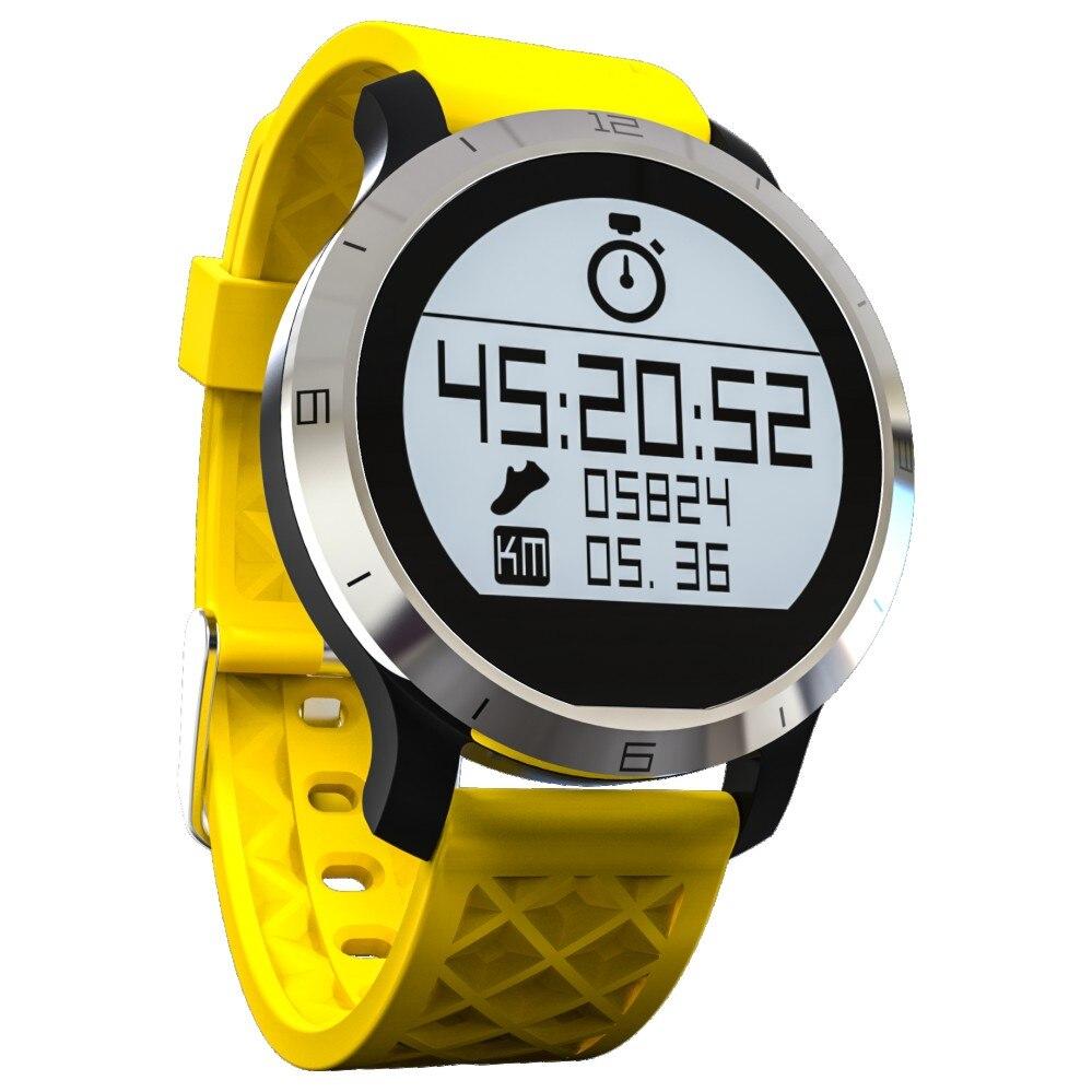 imágenes para Smartch F69 Reloj Inteligente A Prueba de agua IP68 Profesional para Swiming Helthy Sleep Monitor de Ritmo Cardíaco reloj Inteligente para IOS Android