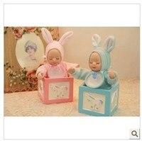 En céramique poupée de mariage cadeaux boîte de cadeau de mariage De Noël cadeaux cadeau de choix la Qixi Festival amie