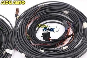 Image 2 - Audi için A4 A5 A6 C7 B9 8W Q7 4M Q5 MLB orijinal 360 çevre dikiz kamera kurulum kablo demeti tel kablo