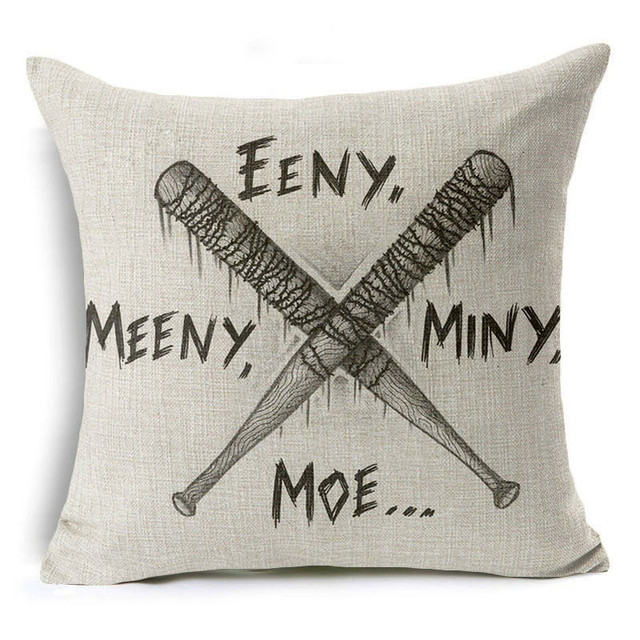 The Walking Dead Style Pillow Cases