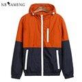 Men Jackets Spring New Fashion Jacket Men Hooded basic Jacket Casual Thin Windbreaker Male jacket Outwear Men Coat