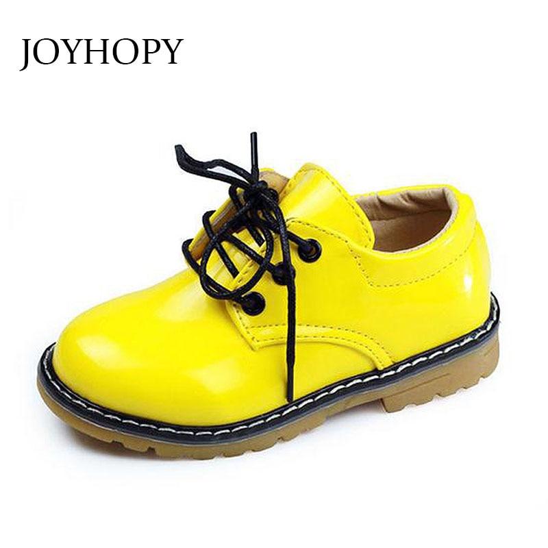 2016 Kinder Casual Shoes Leder Rind Männlich-weibliche Kind Turnschuhe Baby Mokassins Mode Sport Shoes Kostenloser Versand