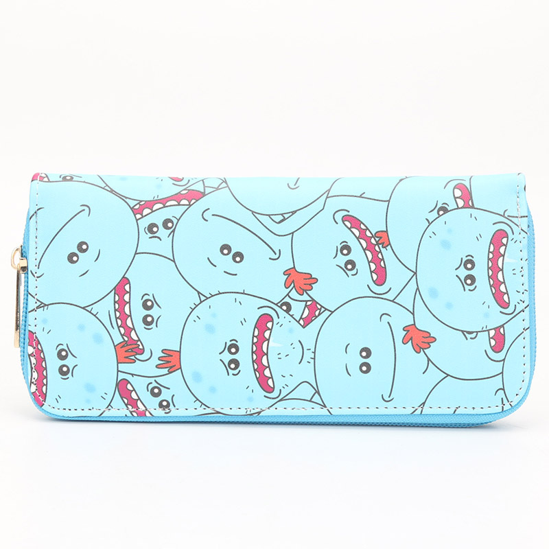 Rick And Morty Cosplay Wallet Mr. Meeseeks Pickle Rick Long Purse Coin  Pocket Card Holder Zipper Purse on Aliexpress.com  570bfd8a715de