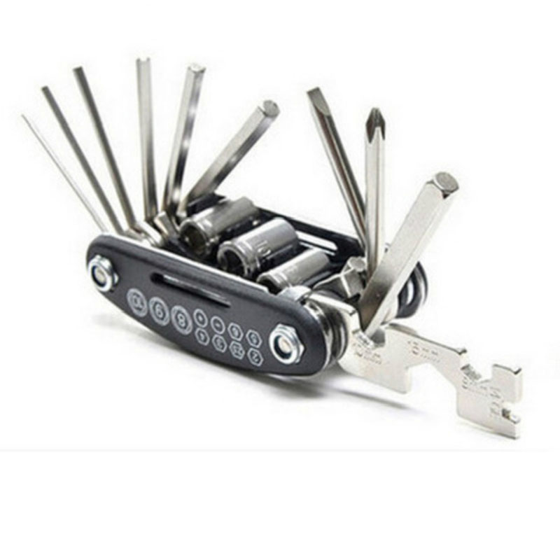15 in 1 Bicycle Repair Tools Multifunction Bike Repairing Hand Tools Mountain Bicycle Accessories Useful Cycling Multi Tool15 in 1 Bicycle Repair Tools Multifunction Bike Repairing Hand Tools Mountain Bicycle Accessories Useful Cycling Multi Tool