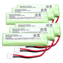 6pack home phone battery walkie talkie battery 2.4 V 500 mAh Home Phone Battery for CPH-518D/BT-28443/BT-18443