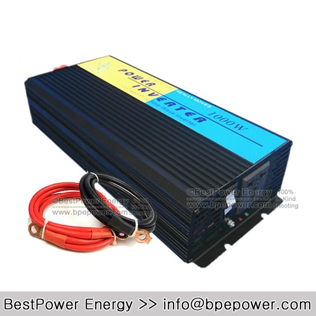 HOT SALE!! 1000W Off Grid Inverter DC12V/24V/48V Pure Sine Wave Inverter, Off Grid Wind Solar Power Inverter Converter