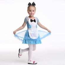 Kids Halloween Costume Servamp Cosplay Sissy Dress Girls Children Maid Outfit Fancy Clothing For Alice In Wonderland Party EK177
