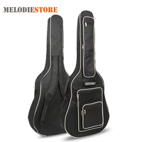 40 41 Inch Guitar Gig Bag Backpack 8mm Pad Cotton Thickening Acoustic Folk Guitar Soft Case