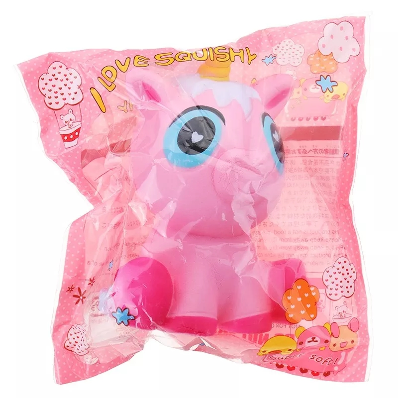 Squishy Slow Rising Jumbo Unicorn Squeeze Toy Fun Novelty Antistress Gifts