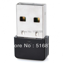 Free Delivery Extremely-Mini Nano USB 2.zero 802.11n/b/g 150Mbps Wi-Fi/WLAN Wi-fi Community Adapter – Black