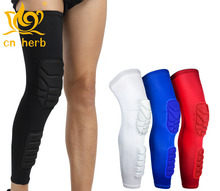 Cn Herb 2 pcs protection of thigh and calf outdoor mountaineering football basketball riding protective products