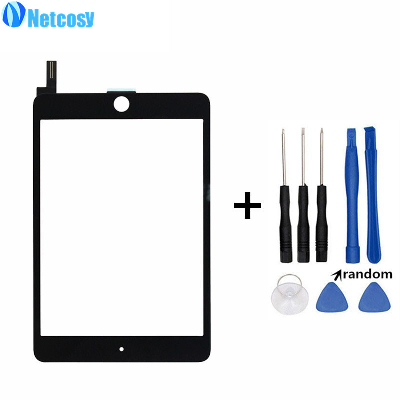 Netcosy Touchscreen For ipad mini 4 Touch screen digitizer glass panel repair for ipad mini 4 touch panel High quality & Tools touchscreen for ft as00 12 1 a4 touch screen panel glass