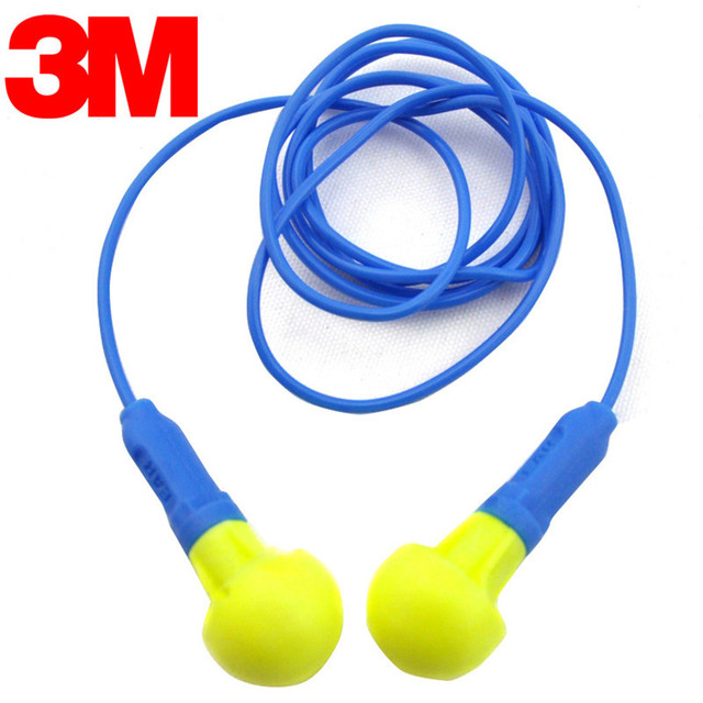 3M 318-1005 Earplugs Sound Insulation Wired Earplugs Anti-noise Earplugs For Sleeping High Quality Patent Foam