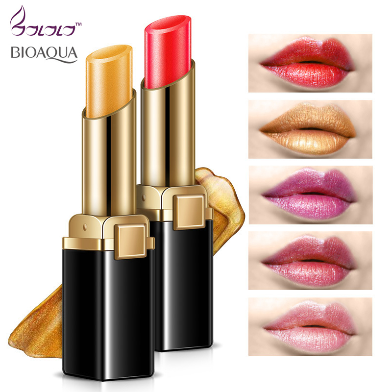 Bioaqua 5 colors Lipstick Matte Cosmetic Waterproof