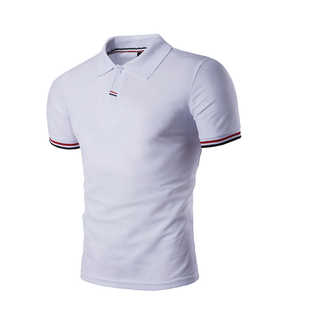 The best polo shirts for men - Best Price Men S Contrast Tipped Polo Shirt Men New Tee Top Camisa Masculina Polo Ralphmen Top Quality Mar27