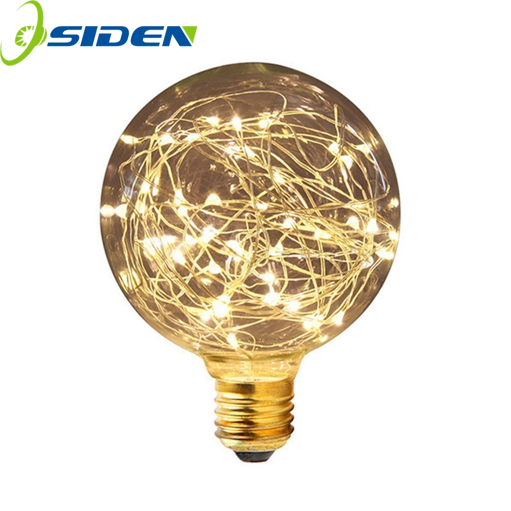 E27 led bulb christmas string light ST64 G95 A19 LED Light Bulb 3W Vintage Globe Starry Decorative Bulbs for Indoor Home Party 20pcs bulb string light