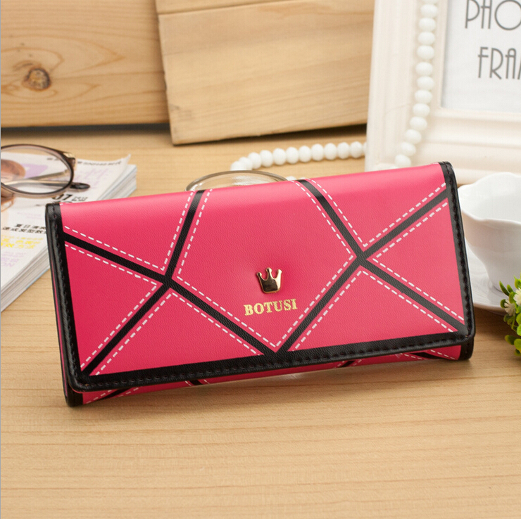 New Promotion women wallets crown mutil-color brand design high quality ladies cluth purse money card holder free shipping free shipping new 100% tested working bsc25 z602f bsc25 2004pr bsc25 z601f5 tv high crown