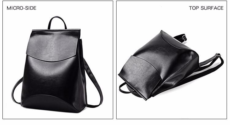 HTB1r1GBanlYBeNjSszcq6zwhFXa9 2018 HOT Fashion Women Backpack High Quality PU Leather Backpacks for Teenage Girls Female School Shoulder Bag Bagpack mochila